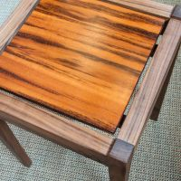 Moat Walnut Side Table