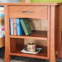 One Drawer Ashland Nightstand