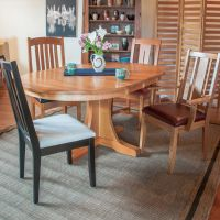 Pedestal Table Cherry