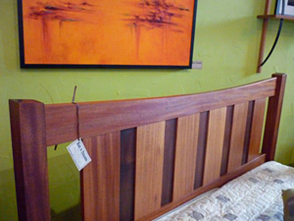 Custom Queen Bed Frame - detail