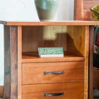 Two Drawer Ashland Nightstand Ken Periat