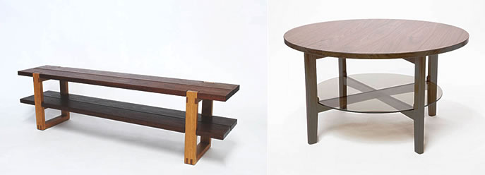Jens Sehm Bench and Table