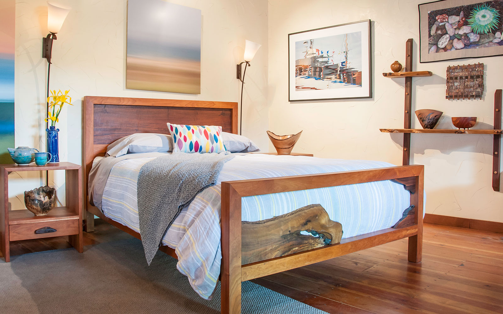 San Francisco Bedroom Furniture Home Made In Pescadero