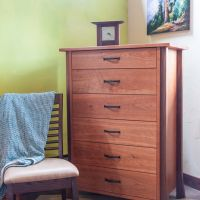 Ashland 6 Drawer Tall Boy Dresser